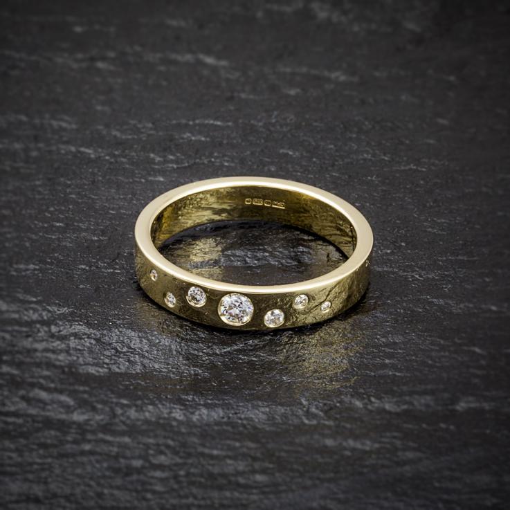 Contemporary Stone Set Rings